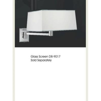 Zaneen Lighting D8-3090 CARRE WALL SCONCE (PIN-UP ADAPTABLE)