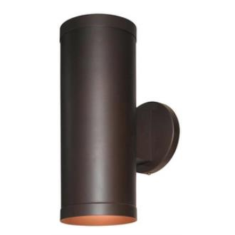 Access Lighting 20364-BRZ/CLR Poseidon-- Two Light Outdoor Wall Washer