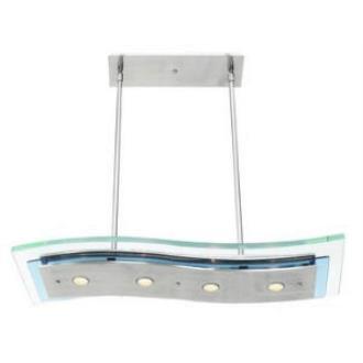 Access Lighting 50107 Aquarius - Four Light Semi-Flush/Pendant