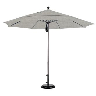 California Umbrella ALTO118 11' Fiberglass Market Umbrella with Double Wind Vent