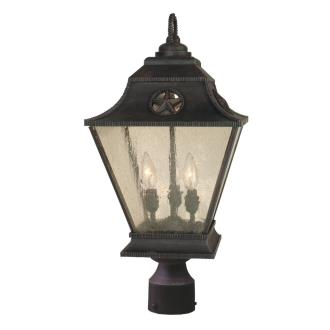 Craftmade Lighting Z1415 Chaparral - Three Light Post