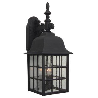 Craftmade Lighting Z570 Grid Cage - Three Light Outdoor Large Wall Bracket