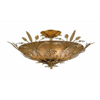 Crystorama Lighting 4704 Primrose - Six Light Ceiling Mount