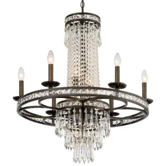 Crystorama Lighting 5266 Mercer - Six Light Chandelier