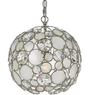 Crystorama Lighting 527 Palla - One Light Mini Chandelier