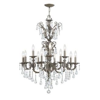 Crystorama Lighting 5512 Mirabella - Twelve Light Chandelier