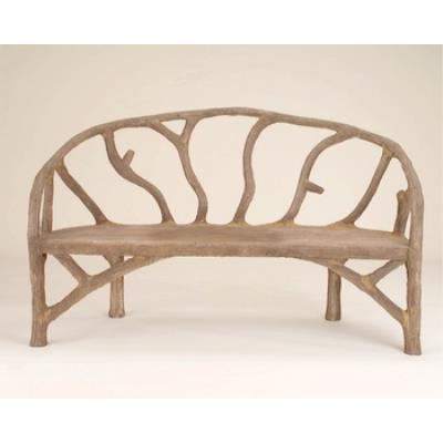 """Currey and Company 2700 Arbor - 61"""" Bench"""
