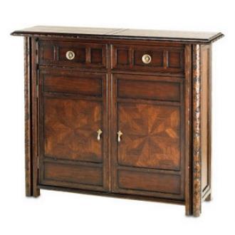 "Currey and Company 3157 Aragon Credenza - 48"" Small Cabinet"