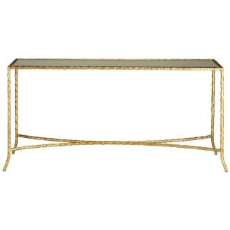 """Currey and Company 4003 Gilt Twist - 60"""" Console Table"""