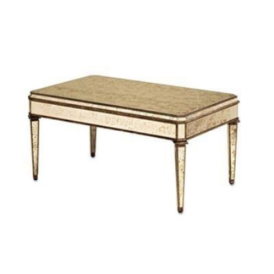 Currey and Company 4210 Rectangular Coffee Table