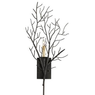 Currey and Company 5002 Midwinter - One Light Wall Sconce