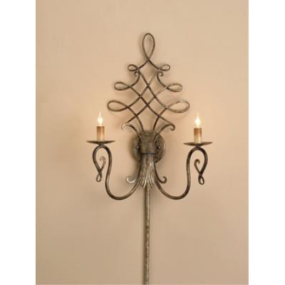 Currey and Company 5006 2 Light Regiment Wall Sconce