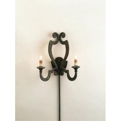 Currey and Company 5012 2 Light Retrospect Wall Sconce
