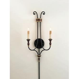 Currey and Company 5015 2 Light Kildare Wall Sconce