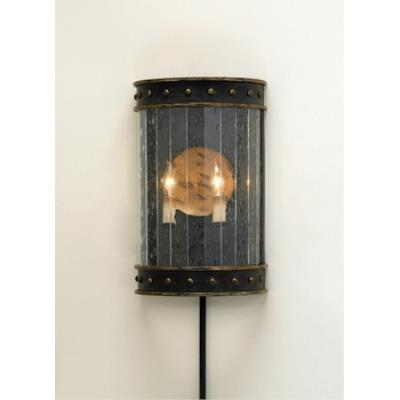 Currey and Company 5031 2 Light Wharton Wall Sconce