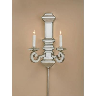 Currey and Company 5042 2 Light Domani Wall Sconce