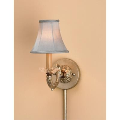 Currey and Company 5104 1 Light Halo Wall Sconce