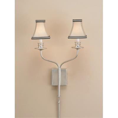 Currey and Company 5106 2 Light Highlight Wall Sconce