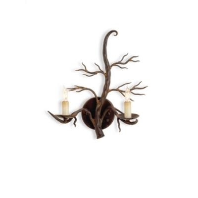 Currey and Company 5307 2 Light Treetop Wall Sconce