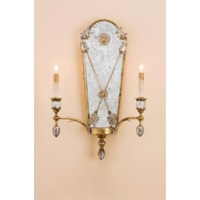 Currey and Company 5314 2 Light Napoli Wall Sconce