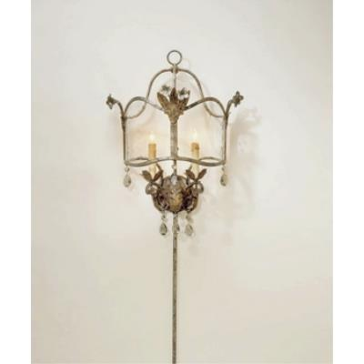 Currey and Company 5357 2 Light Zara Wall Sconce