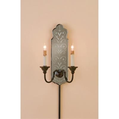 Currey and Company 5403 2 Light Antonio Wall Sconce