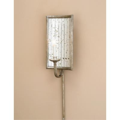 Currey and Company 5405 1 Light Twilight Wall Sconce - Rectangle