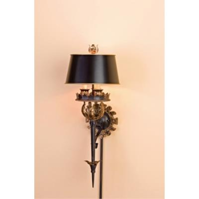 Currey and Company 5412 3 Light The Duke Wall Sconce