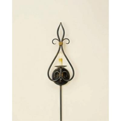 Currey and Company 5516 1 Light Icon Wall Sconce - Small