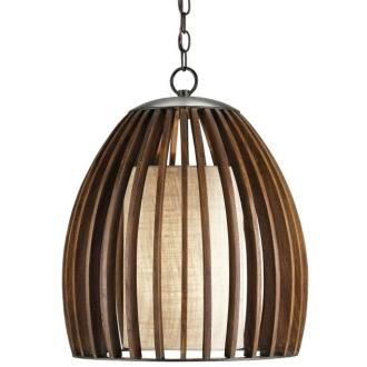 Currey and Company 9099 Carling - One Light Pendant