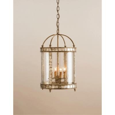 Currey and Company 9229 4 Light Corsica Lantern - Small