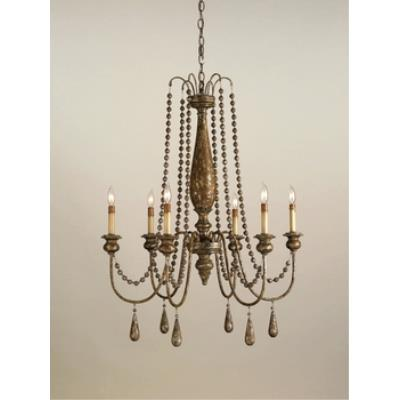 Currey and Company 9254 6 Light Eminence Chandelier