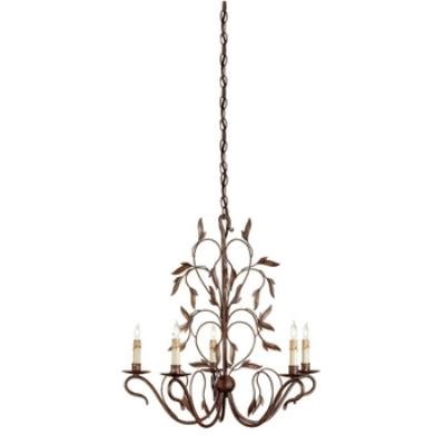 Currey and Company 9371 5 Light Arcadia Small Chandelier