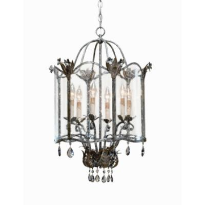 Currey and Company 9388 6 Light Zara Large Pendant