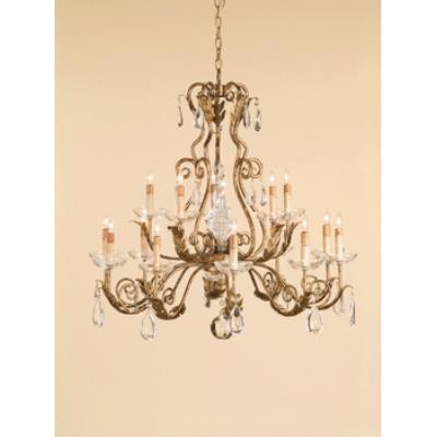 Currey and Company 9443 15 Light Soleil Chandelier