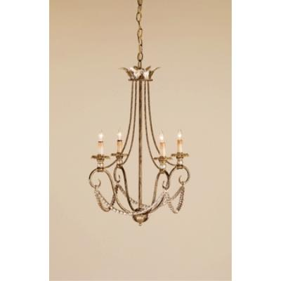 Currey and Company 9461 4 Light  Anise Chandelier