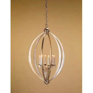 6 Light Bella Luna Chandelier