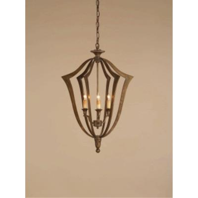 Currey and Company 9498 3 Light Protocol Chandelier