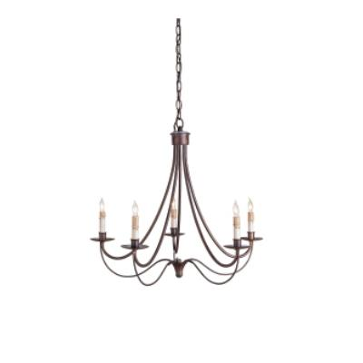 Currey and Company 9540 5 Light Cascade Chandelier
