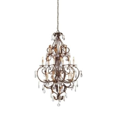 Currey and Company 9569 18 Light Heirloom Chandelier