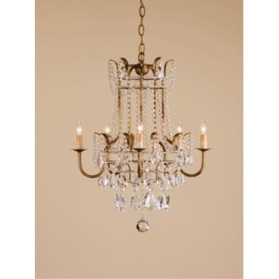 Currey and Company 9643 5 Light Laureate Chandelier