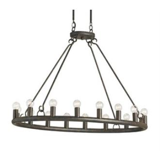 Currey and Company 9812 Wilford - Sixteen Light Oval Chandelier