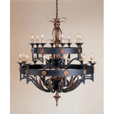 Currey and Company 9837 20 Light Camelot Chandelier