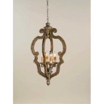 Currey and Company 9942 4 Light Chancellor Chandelier