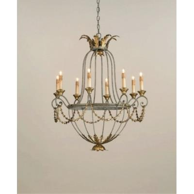Currey and Company 9948 8 Light Elegance Chandelier