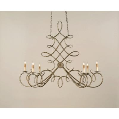 Currey and Company 9964 6 Light Regiment Chandelier