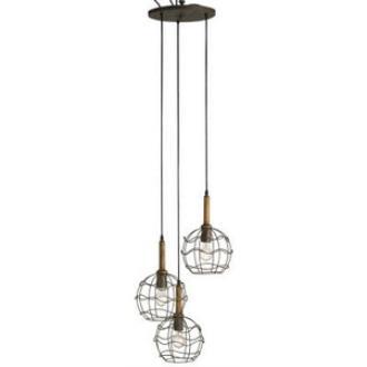 Currey and Company 9968 Sibley Trio - Three Light Adjustable Pendant