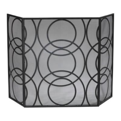 "Cyan lighting 01350 Orb - 49"" Fire Screen"