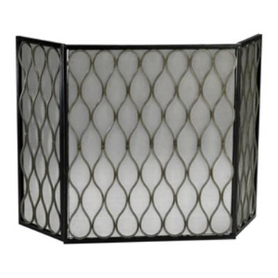 "Cyan lighting 02003 48"" Mesh Fire Screen"