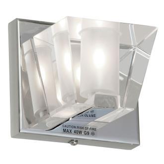 "Dainolite V822-1W-PC 5"" One Light Wall Sconce"